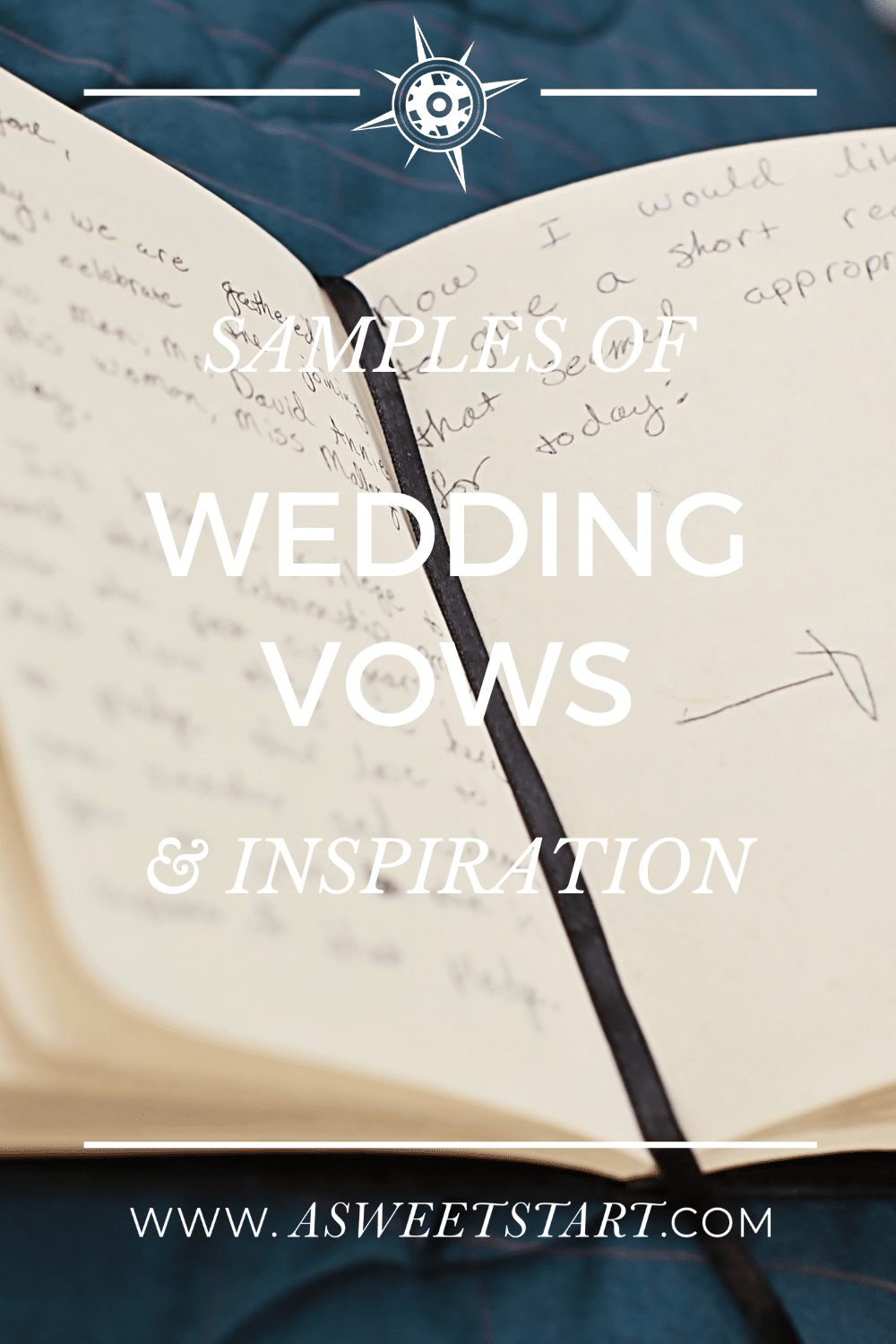 Personal wedding vows inspiration and samples