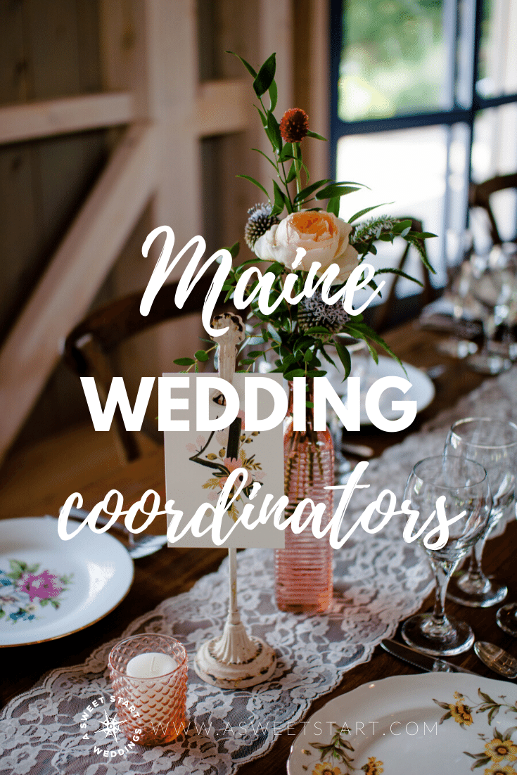 Maine day of wedding coordinators