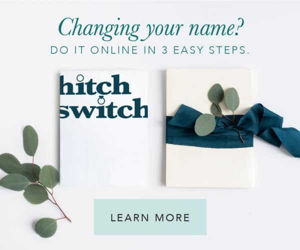 HitchSwitch Name Change Service