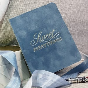 Suede feeling vow book